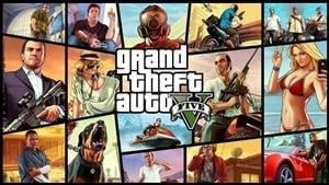 GTA V was the most downloaded game from the PS Store in January