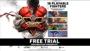 Street Fighter V Free to Play for Limited Time