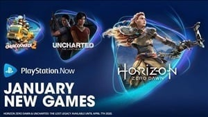 Horizon Zero Dawn and Uncharted: The Lost Legacy Join PlayStation Now in January