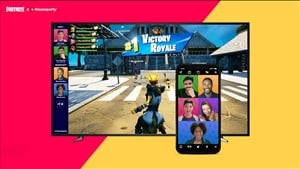 Fortnite is getting in-game video chat with Houseparty