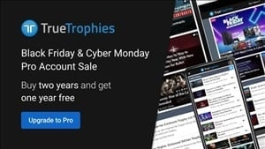 Black Friday: TrueTrophies Pro account sale is now live