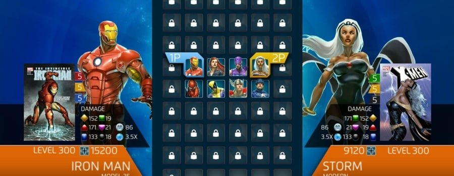 Marvel Puzzle Quest: Dark Reign (PS3)