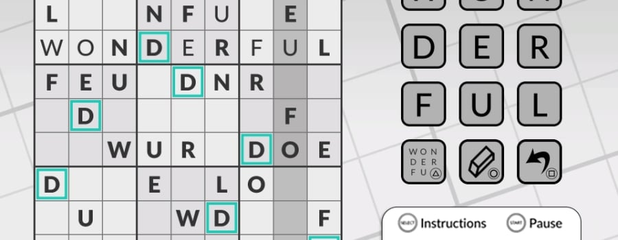 Word Sudoku by POWGI (EU) (Vita)