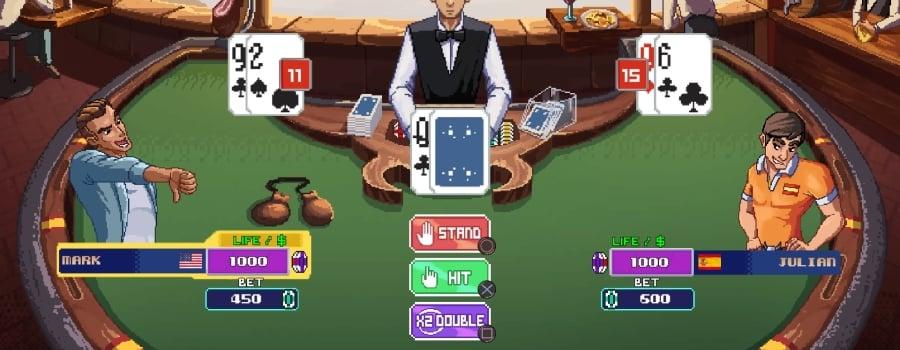Super Blackjack Battle II - Turbo Edition - The Card Warriors (EU)