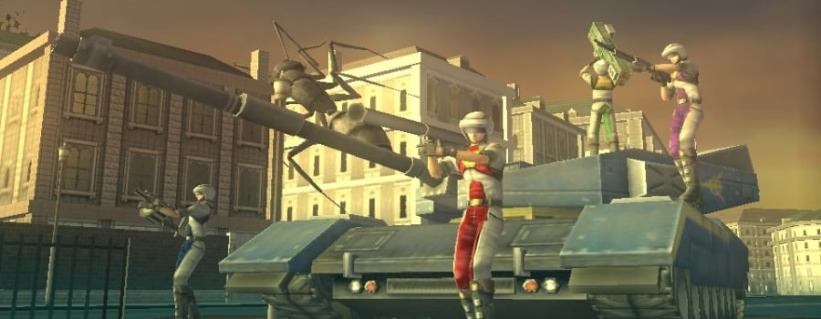 Earth Defense Force 2: Invaders from Planet Space (Vita)