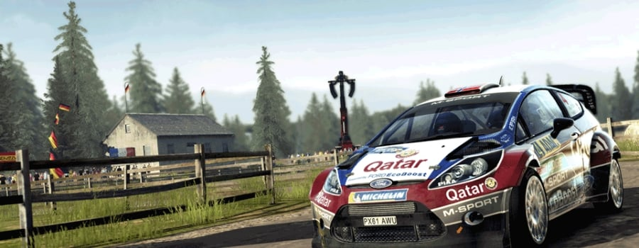 WRC 4: FIA World Rally Championship (Vita)