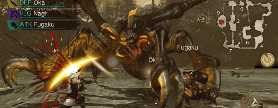 Toukiden: The Age of Demons (Vita)