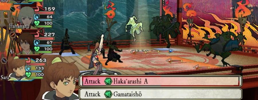 Oreshika: Tainted Bloodlines (Vita)