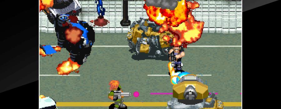 ACA Neo Geo: Shock Troopers 2nd Squad