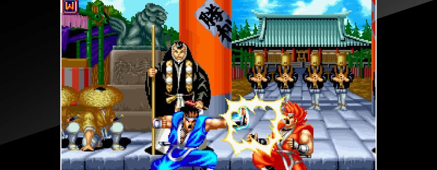 ACA Neo Geo: World Heroes 2 Jet