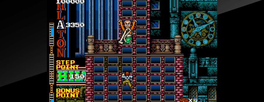 Arcade Archives: Crazy Climber 2
