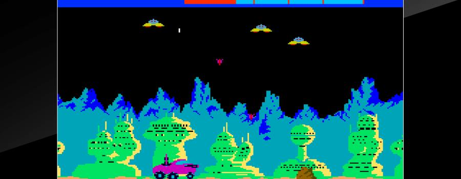 Arcade Archives: Moon Patrol