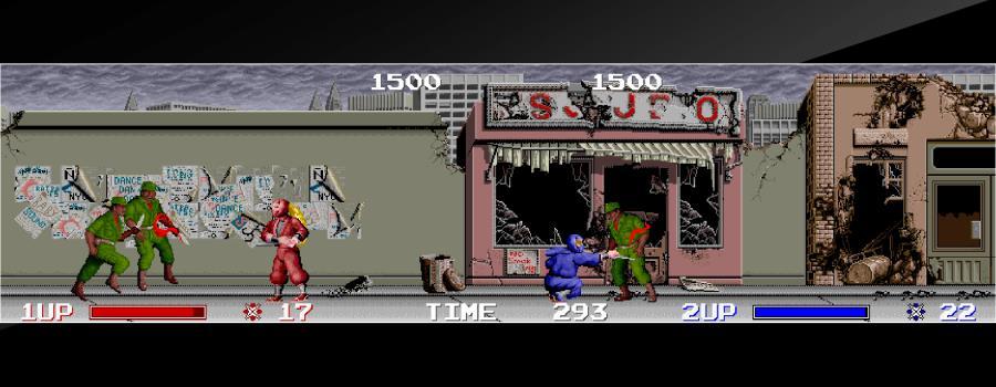 Arcade Archives: The Ninja Warriors
