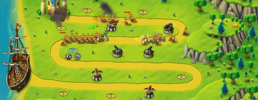 Fort Defense North Menace (EU) (Vita)