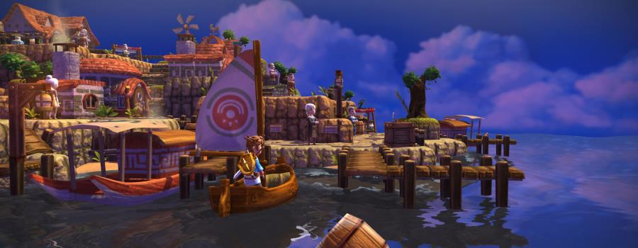 Oceanhorn - Monster of Uncharted Seas (Vita)