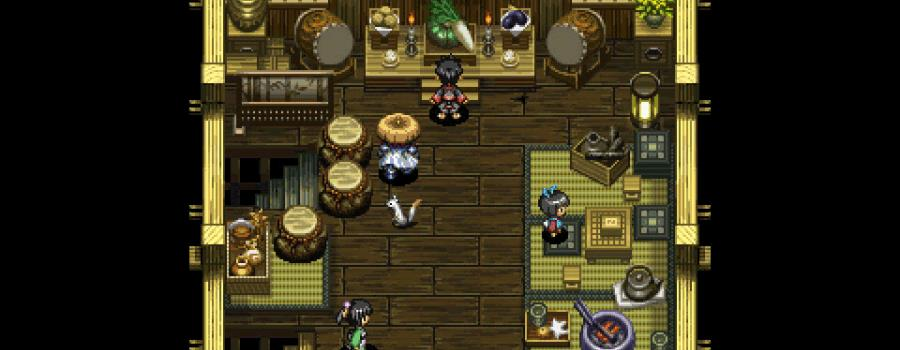 Shiren The Wanderer: The Tower of Fortune and the Dice of Fate (Vita)