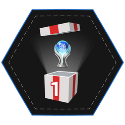 A Platinum Grade Trophy