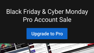 Black Friday Pro Account Offer